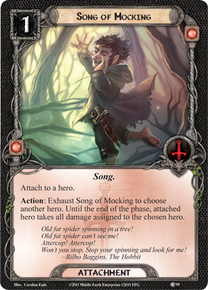 Lord Of The Rings Lcg Song Cards