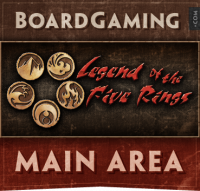 Legend of the Five Rings - Board Game Box Shot