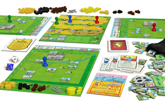 Feudality game contents