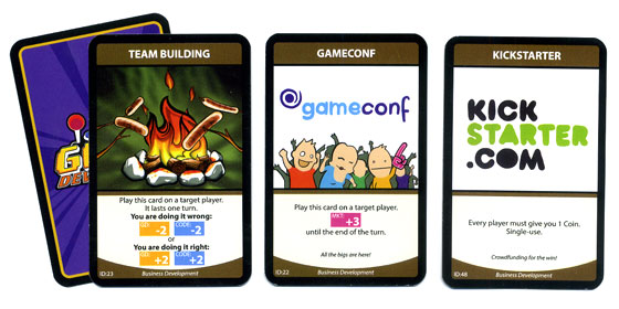 Game Developerz busdev cards