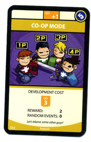 Game Developerz co-op card