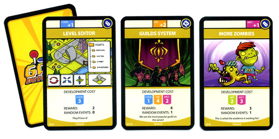 Game Developerz feature cards
