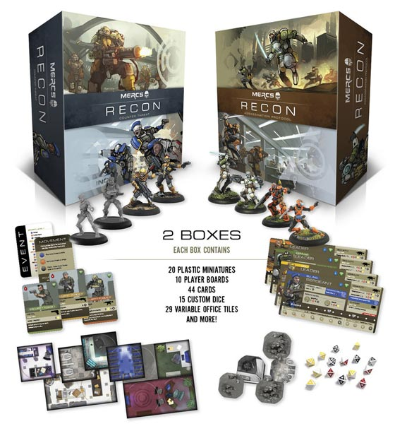 MERCS: Recon core boxes