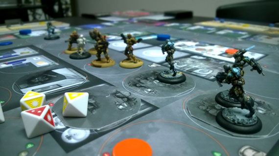 MERCS: Recon game in play