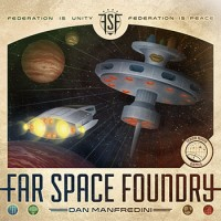 Far Space Foundry - Board Game Box Shot