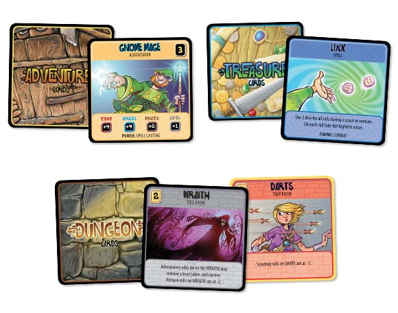 DungeonCraft cards