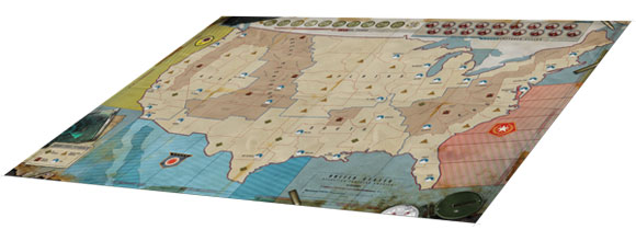 Fortress America game board