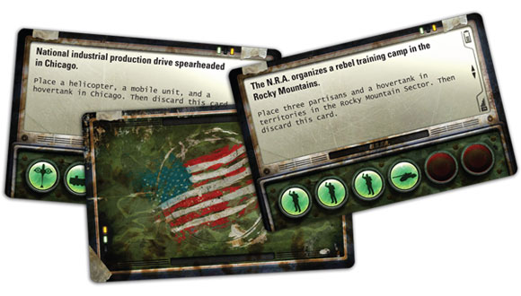 Fortress America partisan cards