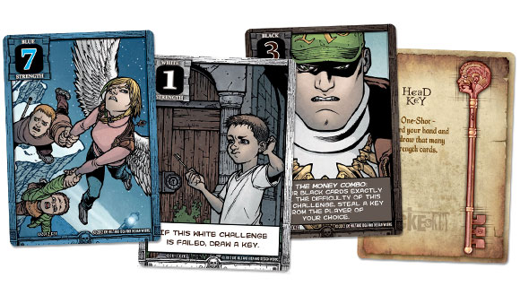 Locke and key card samples