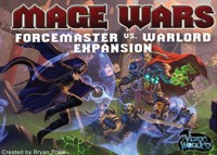 Mage Wars: Forcemaster vs. Warlord - Board Game Box Shot