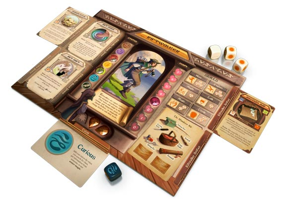 Storm Hollow: A Storyboard Game player layout