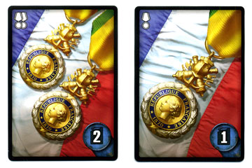 World of Tanks: Rush medal cards