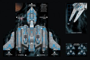Gunship: First Strike blue board