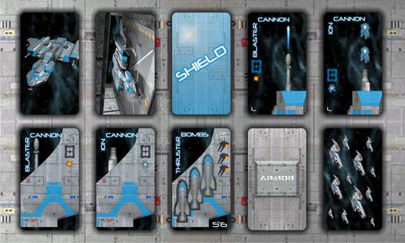Gunship: First Strike blue cards