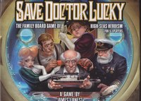 Save Doctor Lucky - Board Game Box Shot