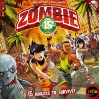 Zombie 15′ - Board Game Box Shot