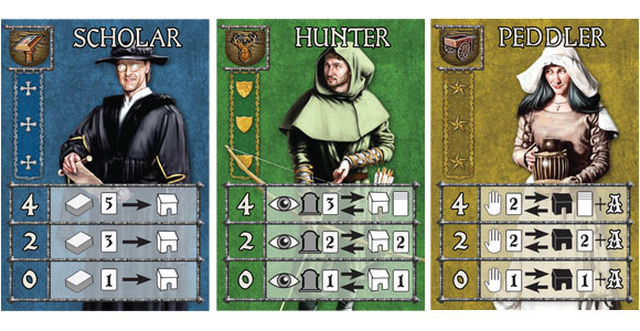 Guildhall: Job Faire cards