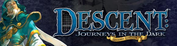 Descent: Journeys in the Dark Second Edition title