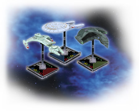 Star Trek: Attack Wing ships