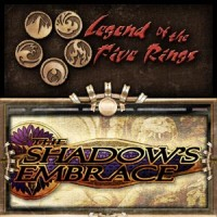 Legend of the Five Rings – The Shadow's Embrace - Board Game Box Shot