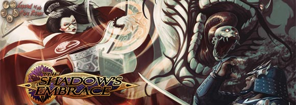 L5R The Shadow's Embrace expansion