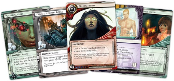 Android: Netrunner LCG cards 1