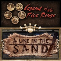 Legend of the Five Rings – A Line in the Sand - Board Game Box Shot