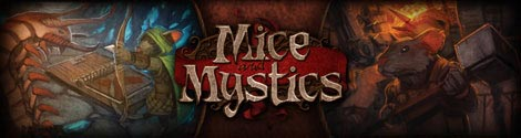 Mice and Mystics title