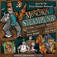 Munchkin Steampunk Deluxe - Board Game Box Shot