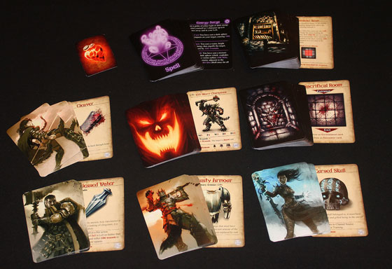 Darklight: Memento Mori card samples