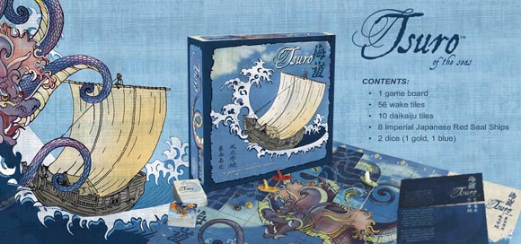 Tsuro of the Seas game contents