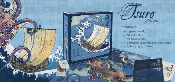 Tsuro of the Seas game contents