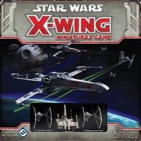 Star Wars: X-Wing Miniatures Game Starter Set - Board Game Box Shot