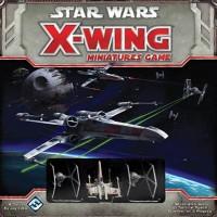 Star Wars: X-Wing Miniatures Game Starter Set - Board Game Box Shot