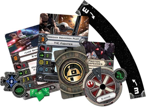 X-Wing components