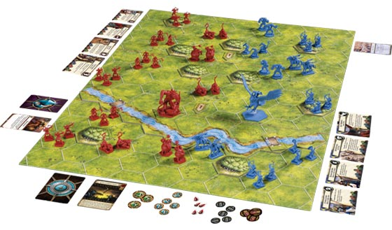 BattleLore: Second Edition game in play