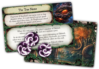Eldritch Horror mystery cards