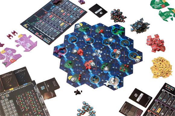Exodus game in play
