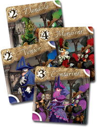 Masques cards