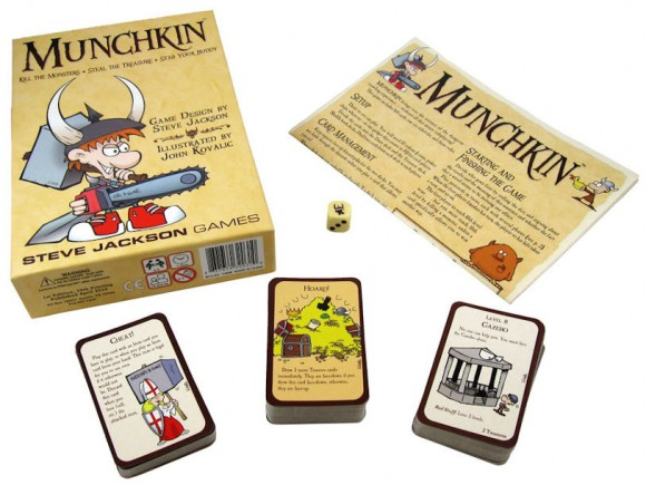 Munchkin box and contents