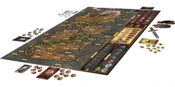 A Game of Thrones: The Board Game game in play