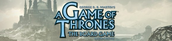 A Game of Thrones: The Board Game title