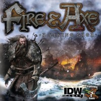 Fire & Axe: A Viking Saga - Board Game Box Shot