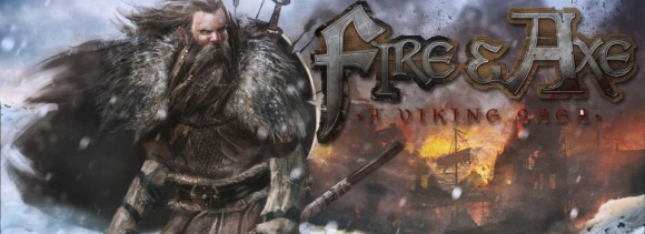 Fire and Axe Banner