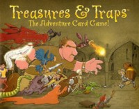 Treasures and Traps - Board Game Box Shot