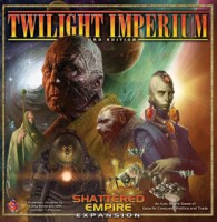 Twilight Imperium: Shattered Empire Expansion - Board Game Box Shot