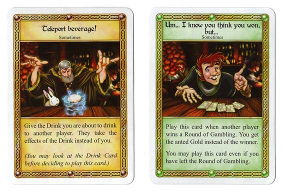 Red Dragon Inn sometimes cards