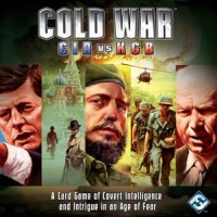 Cold War: CIA vs KGB - Board Game Box Shot