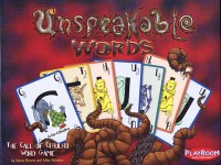 Unspeakable Words - Board Game Box Shot