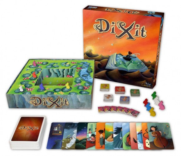 Dixit box and contents